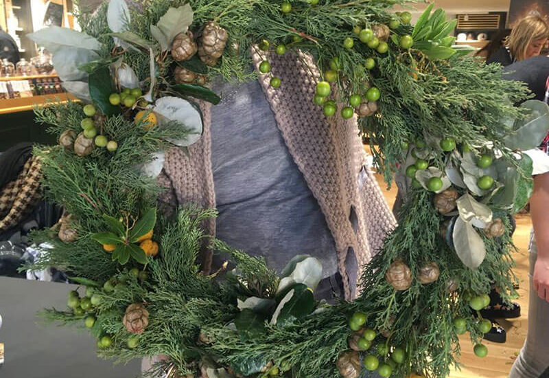 La Ghirlanda di Natale... al profumo di tè